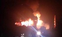 权威 | 浙江德清开发区一企业车间昨夜发生火灾,无人员伤亡