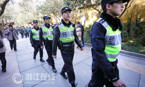 一家不圆万家圆 杭城1.2万民警护卫平安春节