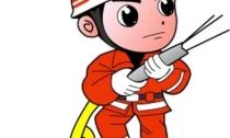 地理信息小镇首次举行大规模消防演练