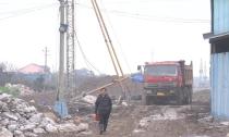 舞阳街东延工程进入全线打桩施工