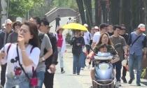 德清山好水好  小长假迎来旅游高峰 下渚湖湿地景区人气旺  长假第一天接待游客超4000人次