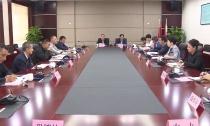 木里藏族自治县考察团来我县对接扶贫协作工作