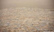 叙利亚尘土弥漫 能见度低于50米