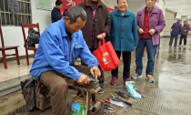 乾元东郊社区:手工艺人服务居民