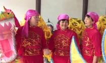 """南路村""""女子舞龙队""""加紧排练迎新年"""