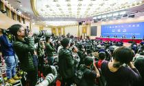 十三届全国人大二次会议新闻中心举行记者会|何立峰:定会实现今年预定目标
