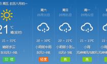 冷空气来袭 雨水增多 气温下降