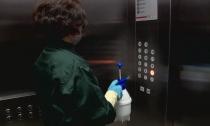上班第一天:不坐电梯走楼梯  消毒通风很重要
