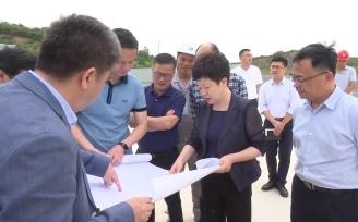 王琴英调研亿元以上工业项目开工情况
