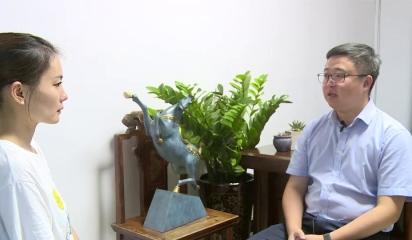"""莫干山镇党委书记陈金侃:全力争当践行""""两山""""理论样板地和模范生"""