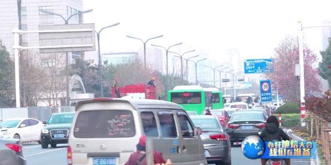 《办好地信大会 我们在准备》 县城区道路改造影响交通流畅度  市民怎么看?