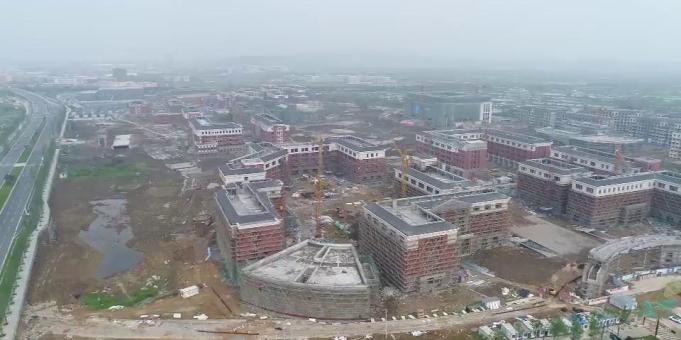 《德清工程 我坚守》倒计时百天  浙工大校区建设进入收尾阶段