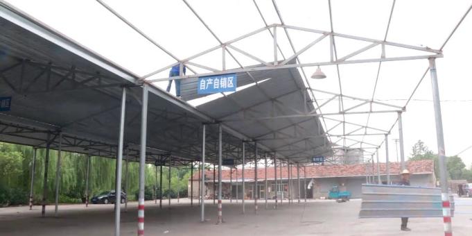 乾元镇拆除8000平米存量违章建筑
