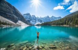 震撼风光:人与自然